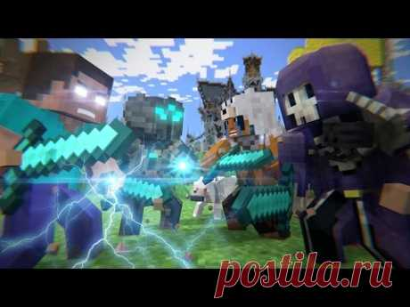 Mega Walls Deathmatch - Forsaken [Parts 1-3] - Minecraft Animation