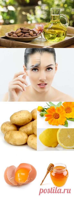 Применение миндального масла для лица от морщин