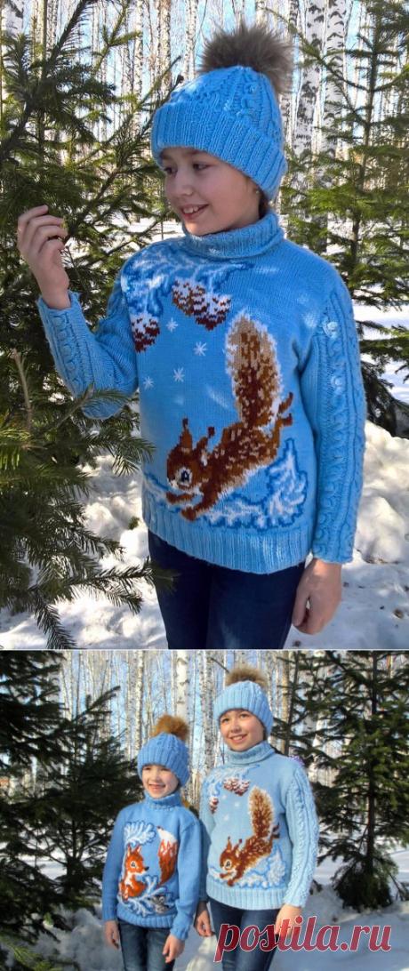 Обалденные зимние свитерки