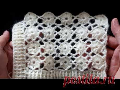 YENI YELEK MODELI #handmade #tejido #blanket #pattern #tutorial #stich #art