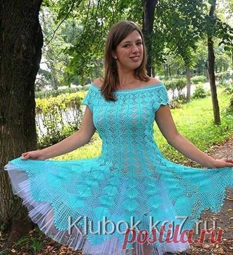 Легендарное платье Кайли Миноуг. Вариант от Екатерины Шлёминой   Клубок