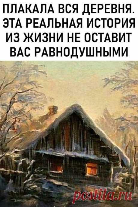 Плакала вся деревня. Эта реальная история из жизни не оставит вас равнодушными