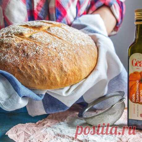 El pan por la receta de Dzheymi Olivera - The Pled la Receta completamente simple, pero sólo presenten el olor, que llenará su casa durante la preparación.