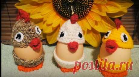 Пасхальные яйца превращаются в … маленьких цыплят | razpetelka.ru