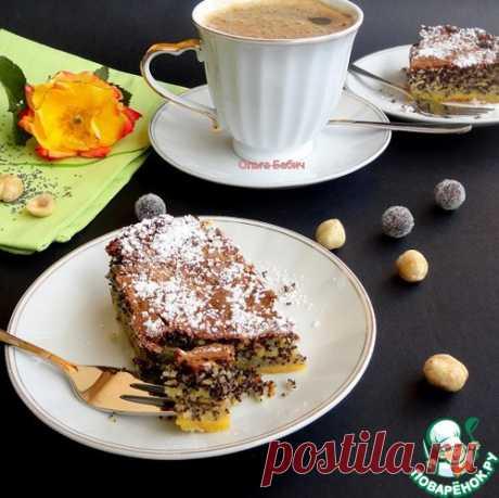"""Маковый пирог """"Турта де папаверо"""" – кулинарный рецепт"""
