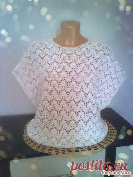 Простой силуэт, не сложный узор - красивая вещь!  Наш Инстаграм https://www.instagram.com/knitideas/   Еще больше идей для вязания @knitideas (knitideas)