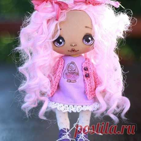 А еще у меня есть маленькое розовое чудо❤️☺️резерв #кукла#творчество#ручнаяработа#нижнийновгород