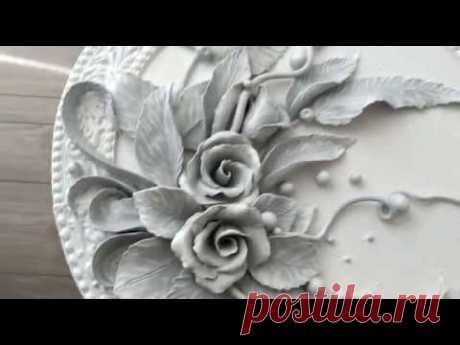 Лепной декор,барельеф. Bas-relief - YouTube
