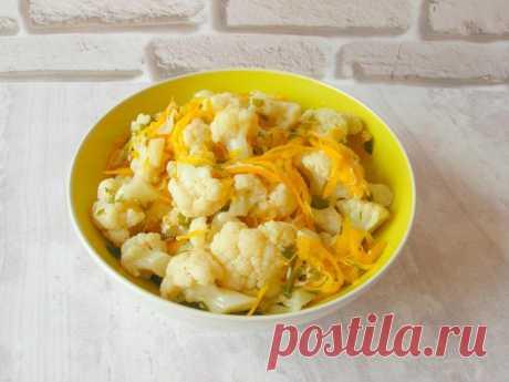 Простая закуска из цветной капусты