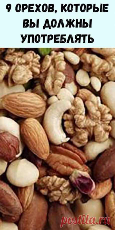 9 орехов, которые вы должны употреблять в необходимых количествах для отличного здоровья! - Упражнения и похудение