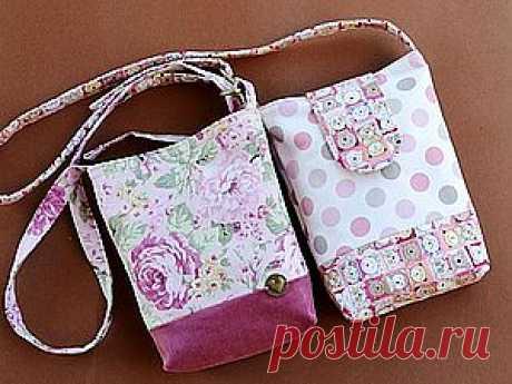 Мастер-класс по пошиву сумочки - Ярмарка Мастеров - ручная работа, handmade