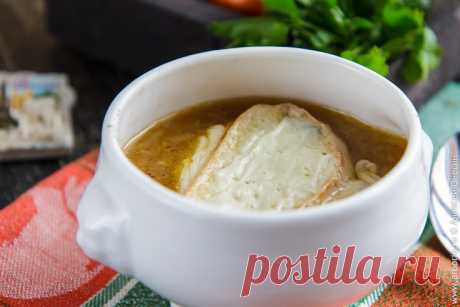 Быстрый луковый суп