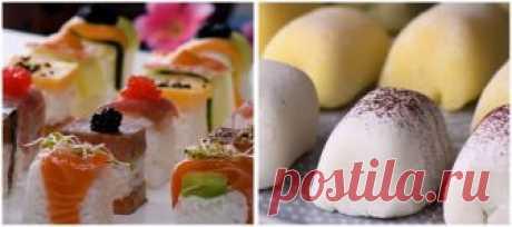 """Японская кухня: Как приготовить мочи и """"ленивые роллы"""" дома   Хочу ЕЩЁ   Яндекс Дзен"""