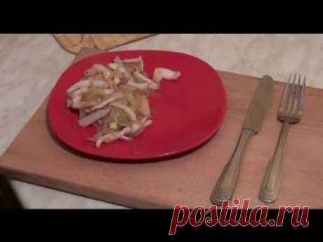 Как приготовить вкусные кальмары? Простой рецепт приготовления вкусных кальмаров!