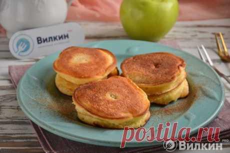 Жареные яблоки в тесте - рецепт с фото пошагово