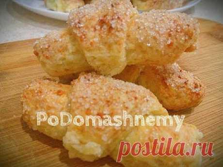 Творожные рогалики в духовке - запись пользователя Podomashnemy в сообществе Болталка в категории Кулинария