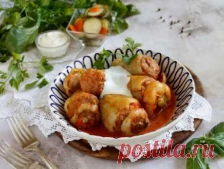 Фаршированный перец «Белозёрка» — рецепт с фото пошагово