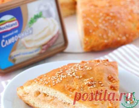 Пирог с семгой и сливочным сыром – кулинарный рецепт