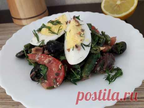 Салат с тунцом - всеми любимый рыбный салат