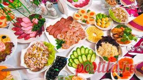 ТОП - 9 Рецептов Новогодних Салатов