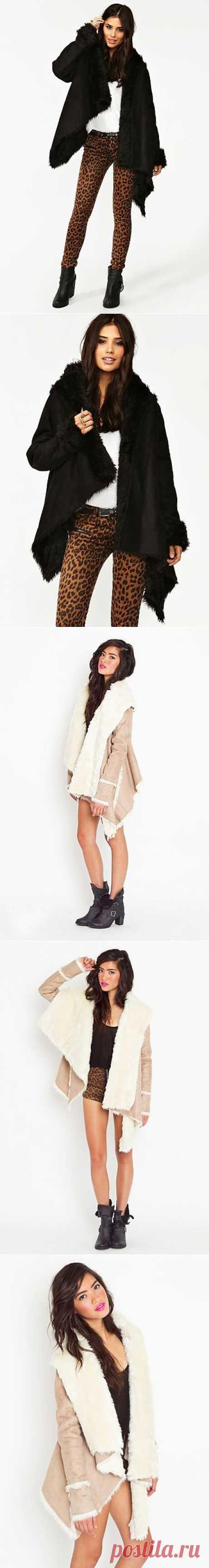 Дубленка: подвид простейшие / Простые выкройки / Модный сайт о стильной переделке одежды и интерьера