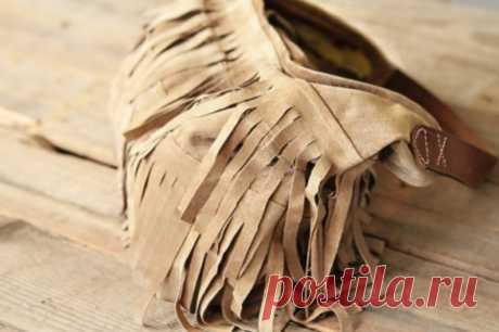 Сумка а-ля ковбой из старых штанов / KNITLY.com - блог о рукоделии, мастерклассы