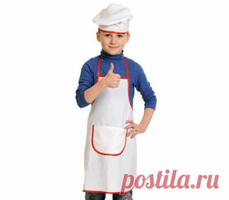 Костюм Поваренка детский - купить в магазине развивающих игрушек Детский сад detsad-shop.ru
