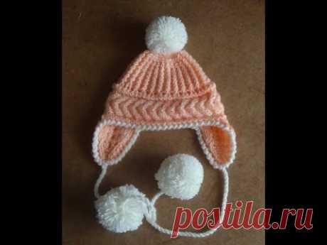 EL GORRITO CON LAS OREJITAS. knitted cap with ears