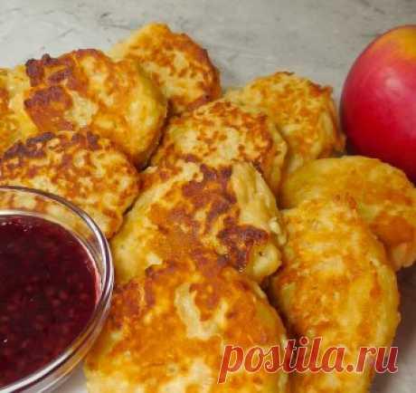 Яблочные оладьи / Видео-рецепты / TVCook: пошаговые рецепты с фото