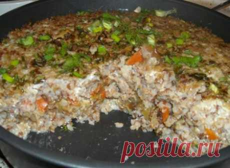 Рецепты оригинальных и очень вкусных блюд из гречневой крупы.