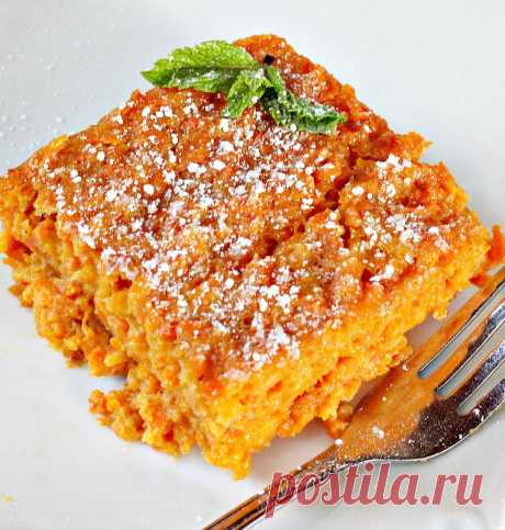 Морковная бабка - запеканка из тертой моркови - рецепт с фото пошагово Морковная бабка - запеканка из тертой моркови - пошаговый кулинарный рецепт приготовления с фото, шаг за шагом.