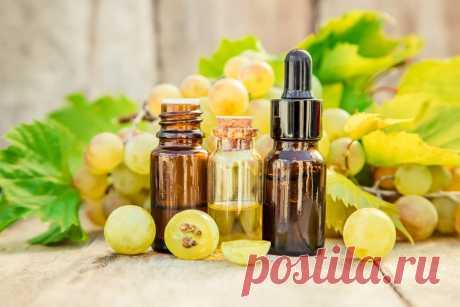 Масло виноградных косточек в уходе за кожей и волосами