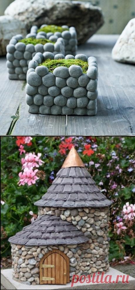 Время собирать камни: идеи декора для садового участка