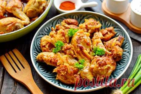 Жареная курица по «фирменному» рецепту моего мужа, на выходных всегда просим его приготовить