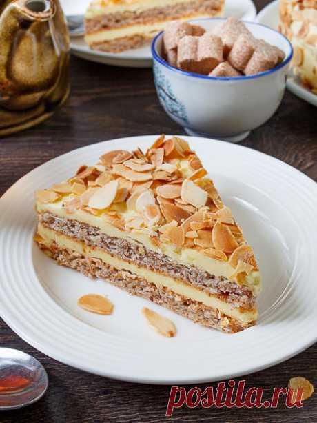 Рецепт шведского миндального торта на Вкусном Блоге
