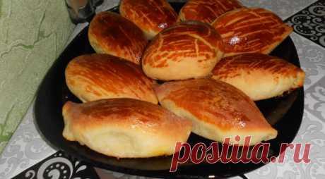 Воздушные пирожки, пошаговый рецепт с фото