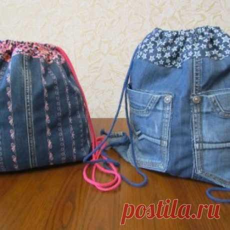 сумки из старых джинсов своими руками - мастер классы в рукодельной энциклопедии Pro100Hobbi