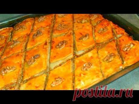 Пахлава  слоеная рецепт от Inga Avak