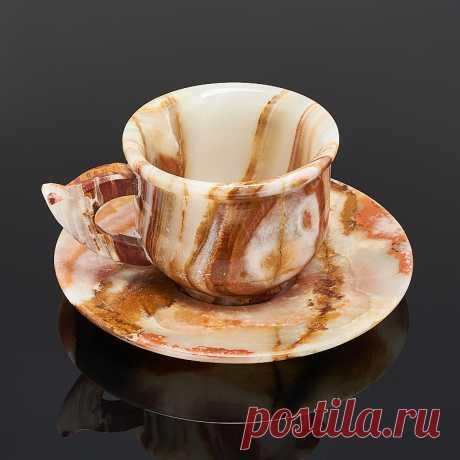 1999 р-Купить Посуда оникс мраморный Пакистан (чайная пара) Доставка по всему миру! Заходи и покупай сейчас! | Интернет-магазин Минерал Маркет - 276876