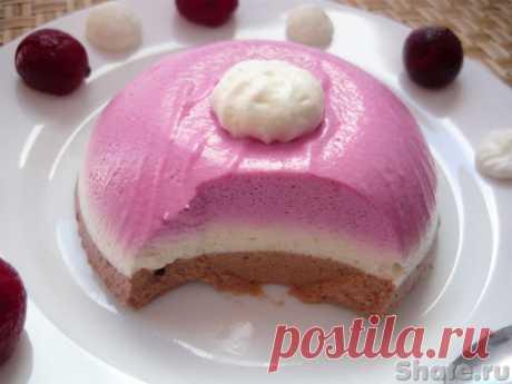Трехслойный десерт с йогуртом − Кулинарный сайт Шате
