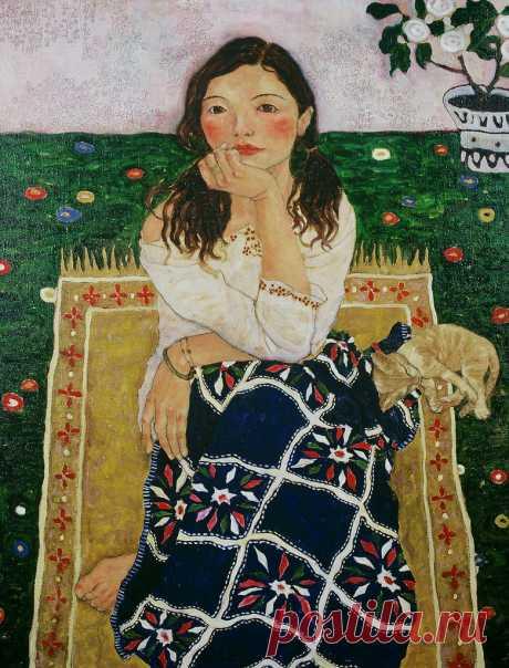 Китайская художница Си Пан (Xi Pan)