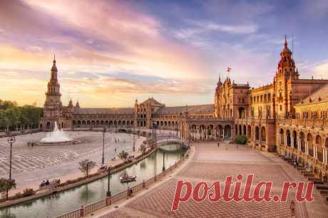 Красоты Испании   Домашний турист   Яндекс Дзен