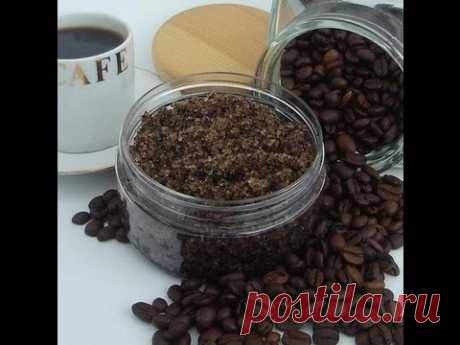Кофейно-медовый скраб антицеллюлитный