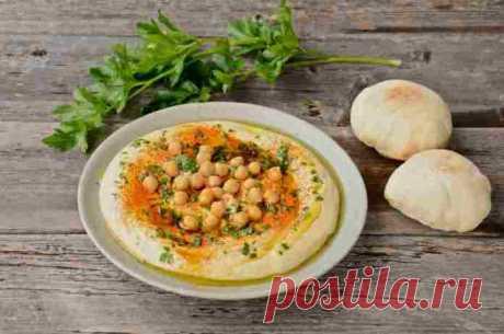 ХУМУС ИЗ НУТА СОУС - Сегодня мы приготовим хумус из нута, являющийся одним из национальных еврейских блюд. Хотя, впрочем, будет не совсем правильно называть его блюдом. По сути это соус, который принято подавать к различным блюдам.