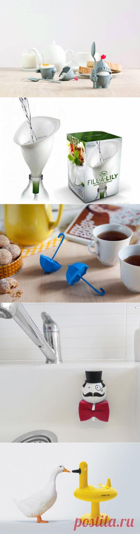 Веселый дизайн: 10 необычных помощников для кухни