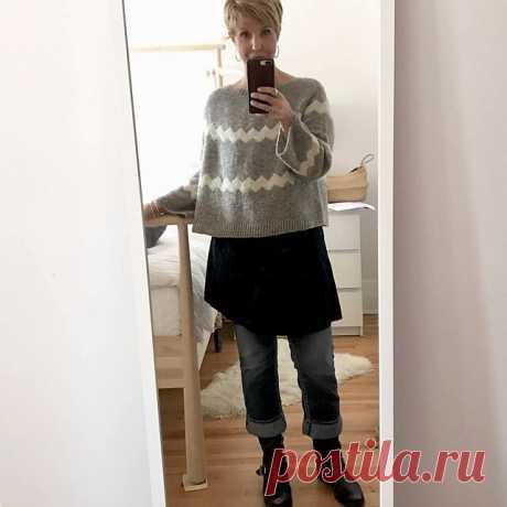 Джемпер спицами. 3 модели | Модное вязание | Яндекс Дзен