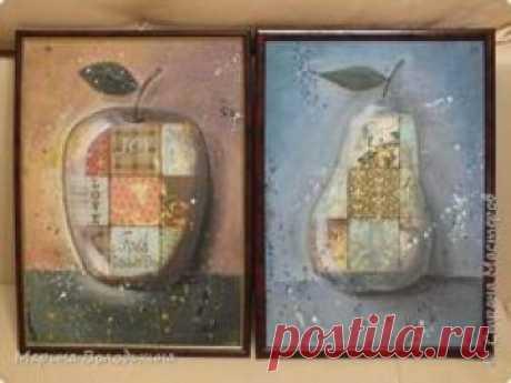 Картина панно рисунок Декупаж Рисование и живопись Силуэтный декупаж Нужна оценка фото 1