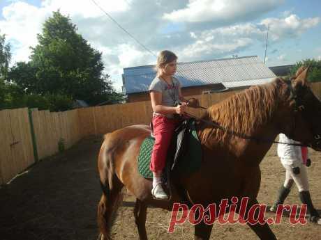 А лошадей мы просто любим))))с дочей