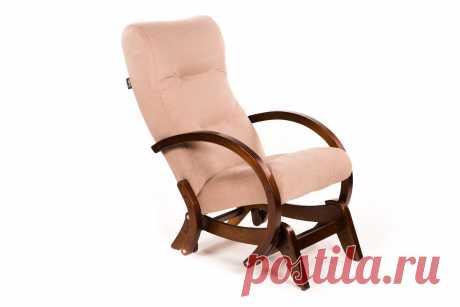 """Кресло-качалка глайдер """"Мэтисон"""" Крем-брюле от Green Tree - Купить мягкую мебель по выгодной цене"""