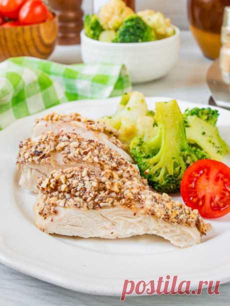 Рецепт куриных грудок с миндальной корочкой на Вкусном Блоге